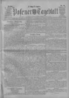 Posener Tageblatt 1909.01.29 Jg.48 Nr48