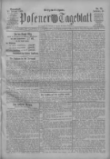Posener Tageblatt 1909.02.20 Jg.48 Nr85