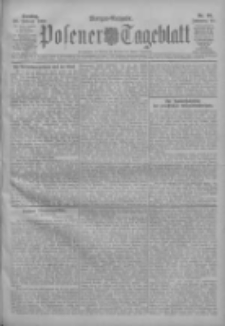 Posener Tageblatt 1909.02.28 Jg.48 Nr99