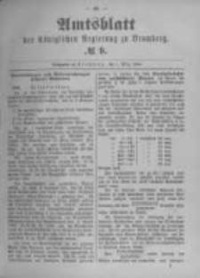 Amtsblatt der Königlichen Preussischen Regierung zu Bromberg. 1894.03.01 No.9