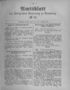 Amtsblatt der Königlichen Preussischen Regierung zu Bromberg. 1894.03.15 No.11