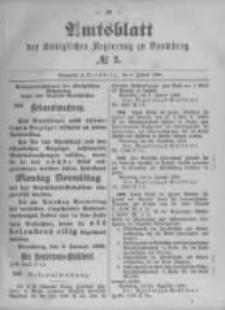 Amtsblatt der Königlichen Preussischen Regierung zu Bromberg. 1896.01.09 No.2