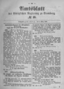 Amtsblatt der Königlichen Preussischen Regierung zu Bromberg. 1896.03.05 No.10