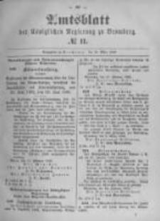 Amtsblatt der Königlichen Preussischen Regierung zu Bromberg. 1896.03.12 No.11