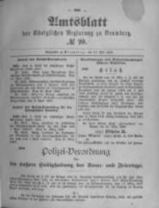 Amtsblatt der Königlichen Preussischen Regierung zu Bromberg. 1896.05.13 No.20