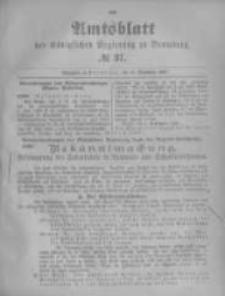 Amtsblatt der Königlichen Preussischen Regierung zu Bromberg. 1896.09.10 No.37