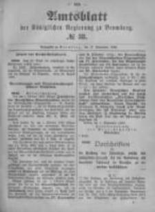 Amtsblatt der Königlichen Preussischen Regierung zu Bromberg. 1896.09.17 No.38