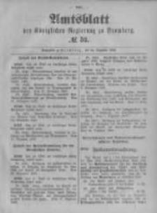 Amtsblatt der Königlichen Preussischen Regierung zu Bromberg. 1896.12.24 No.52