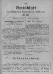Amtsblatt der Königlichen Preussischen Regierung zu Bromberg. 1896.12.31 No.53
