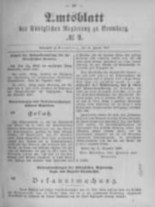 Amtsblatt der Königlichen Preussischen Regierung zu Bromberg. 1897.01.14 No.2