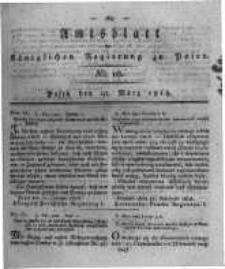 Amtsblatt der Königlichen Regierung zu Posen. 1818.03.10 Nro.10