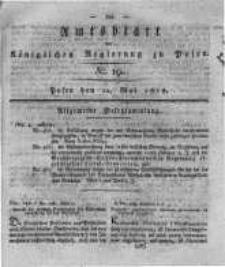Amtsblatt der Königlichen Regierung zu Posen. 1818.05.12 Nro.19