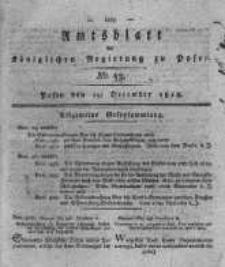 Amtsblatt der Königlichen Regierung zu Posen. 1816.12.29 Nro.53
