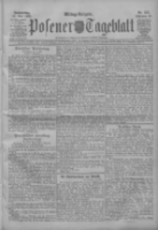 Posener Tageblatt 1909.05.13 Jg.48 Nr222