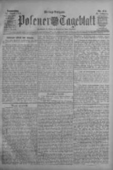 Posener Tageblatt 1909.08.12 Jg.48 Nr374