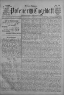 Posener Tageblatt 1909.08.15 Jg.48 Nr379