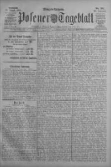 Posener Tageblatt 1909.08.25 Jg.48 Nr395
