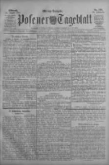 Posener Tageblatt 1909.08.25 Jg.48 Nr396