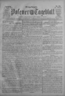 Posener Tageblatt 1909.08.26 Jg.48 Nr398
