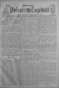 Posener Tageblatt 1909.08.27 Jg.48 Nr399