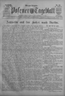 Posener Tageblatt 1909.08.28 Jg.48 Nr401