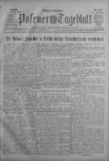 Posener Tageblatt 1909.08.29 Jg.48 Nr403