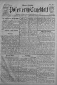 Posener Tageblatt 1909.09.23 Jg.48 Nr445