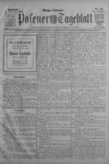 Posener Tageblatt 1909.09.25 Jg.48 Nr449