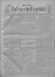 Posener Tageblatt 1909.10.06 Jg.48 Nr467