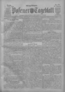 Posener Tageblatt 1909.10.11 Jg.48 Nr476