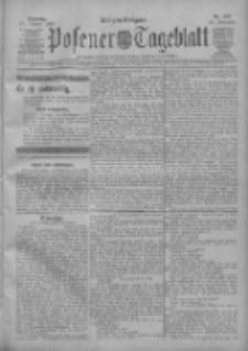 Posener Tageblatt 1909.10.17 Jg.48 Nr487