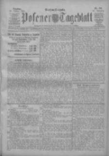 Posener Tageblatt 1909.10.26 Jg.48 Nr501
