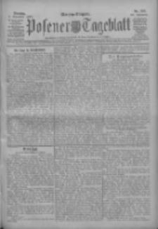 Posener Tageblatt 1909.11.09 Jg.48 Nr525