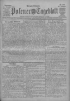 Posener Tageblatt 1909.11.11 Jg.48 Nr529