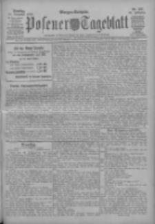 Posener Tageblatt 1909.11.16 Jg.48 Nr537