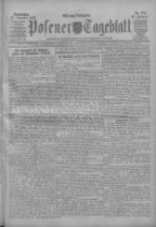 Posener Tageblatt 1909.11.25 Jg.48 Nr552
