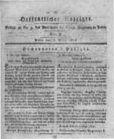 Oeffentlicher Anzeiger. 1818.03.03 Nro.9