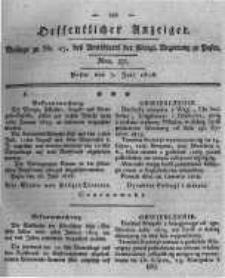 Oeffentlicher Anzeiger. 1818.07.07 Nro.27