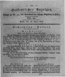 Oeffentlicher Anzeiger. 1818.07.28 Nro.30