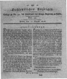 Oeffentlicher Anzeiger. 1818.08.11 Nro.32