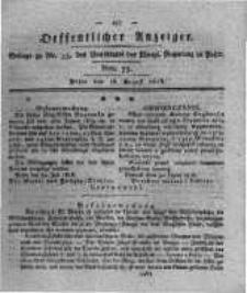 Oeffentlicher Anzeiger. 1818.08.18 Nro.33