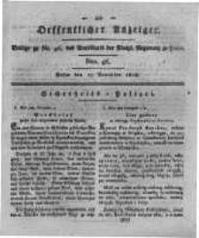 Oeffentlicher Anzeiger. 1818.11.17 Nro.46