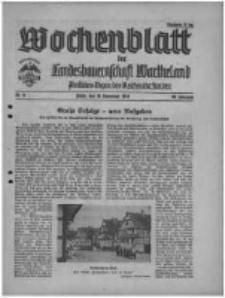 Wochenblatt der Landesbauernschaft Wartheland: amtliches Organ des Reichsnährstandes. 1940.11.16 Jg.38 nr45