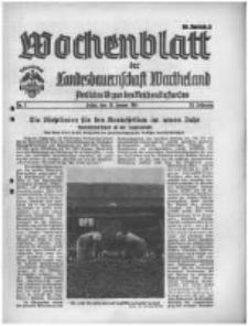 Wochenblatt der Landesbauernschaft Wartheland: amtliches Organ des Reichsnährstandes. 1941.01.11 Jg.39 nr2