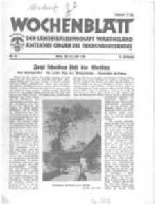Wochenblatt der Landesbauernschaft Wartheland: amtliches Organ des Reichsnährstandes. 1941.07.12 Jg.39 nr28