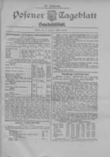 Posener Tageblatt. Handelsblatt 1909.01.02 Jg.48
