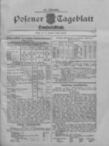 Posener Tageblatt. Handelsblatt 1909.01.06 Jg.48