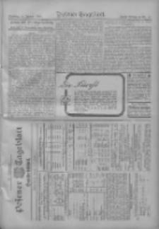 Posener Tageblatt. Handelsblatt 1909.01.11 Jg.48