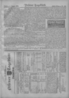 Posener Tageblatt. Handelsblatt 1909.01.18 Jg.48