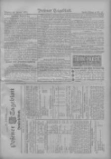 Posener Tageblatt. Handelsblatt 1909.01.25 Jg.48